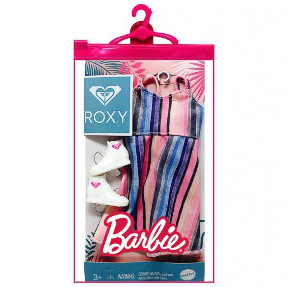 Vestimentatie Completa Barbie Roxy Rochia in Dungi 2