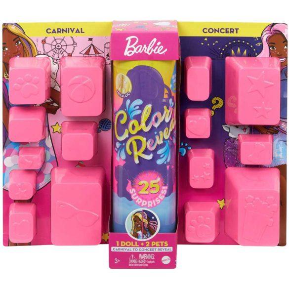 Barbie Color Reveal Papusa Day-to-Night cu 25 de Surprize