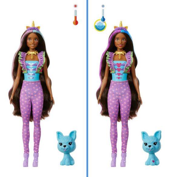 Barbie Color Reveal Papusa Unicorn Fantasy cu 25 de Surprize 4