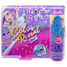 Barbie Color Reveal Peel Papusa Fairy cu 25 de Surprize