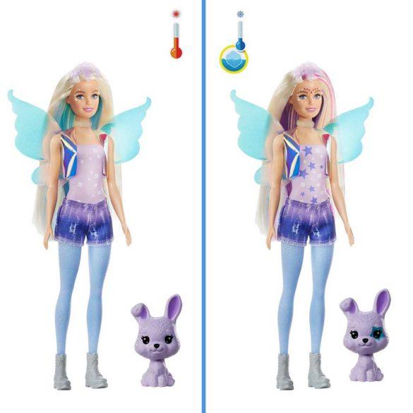 Barbie Color Reveal Peel Papusa Fairy cu 25 de Surprize 6