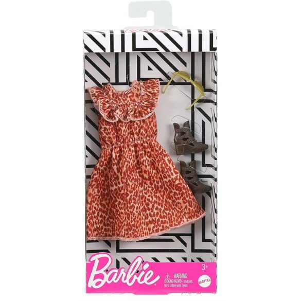 Barbie Tinuta Completa Model Animal Print 2
