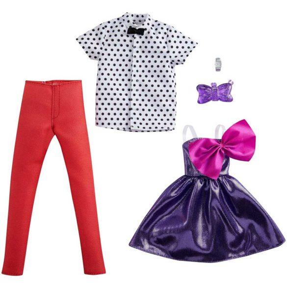 Pachet Vestimentatie Barbie si Ken Model 1