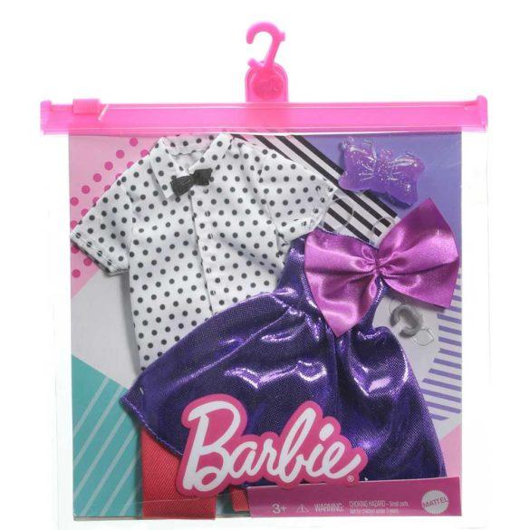 Pachet Vestimentatie Barbie si Ken Model 1 2