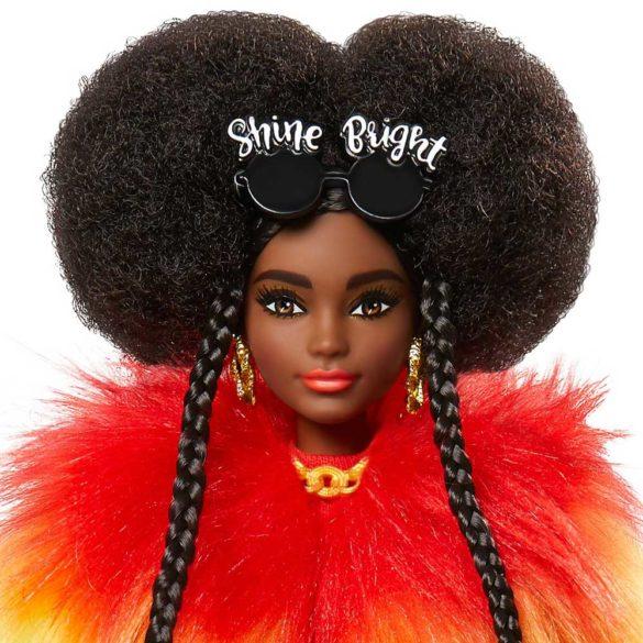 Papusa Barbie Extra Hainuta Curcubeu 4