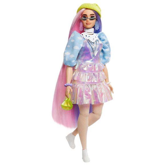 Papusa Barbie Extra cu Hainute Stralucitoare si Catelus 3