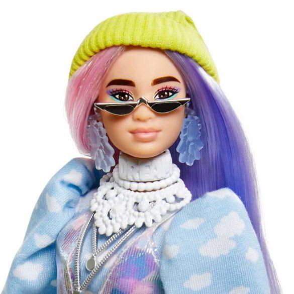 Papusa Barbie Extra cu Hainute Stralucitoare si Catelus 4