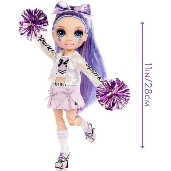 Papusa Violet Willow colectia Rainbow High Majorete 2