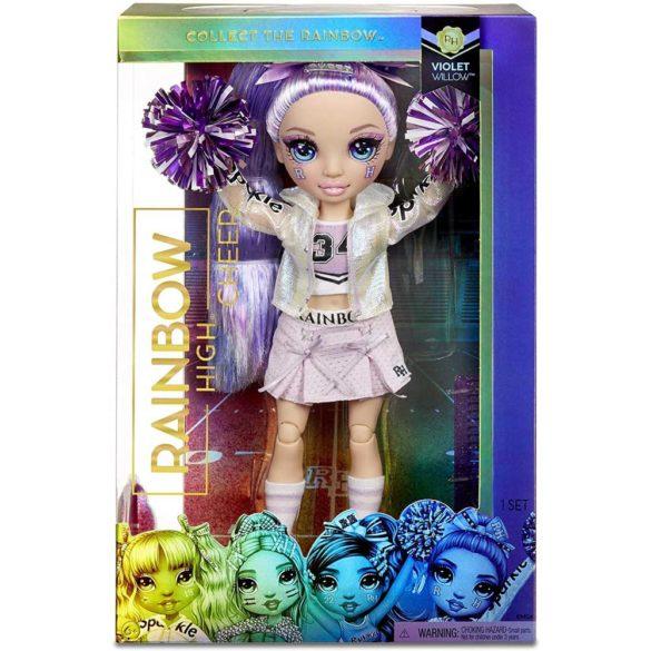 Papusa Violet Willow colectia Rainbow High Majorete 4