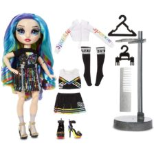 Rainbow High Papusa Amaya Raine cu 2 Tinute