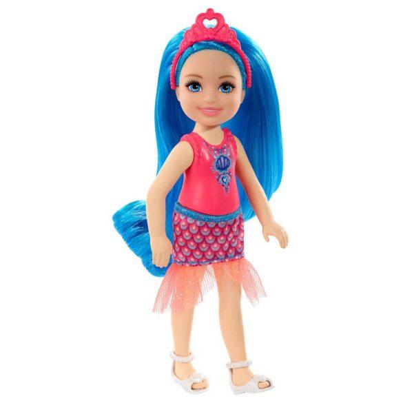 Barbie Dreamtopia Papusa cu Par Albastru
