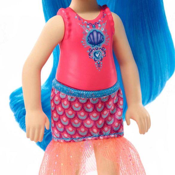 Barbie Dreamtopia Papusa cu Par Albastru 3