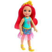 Barbie Dreamtopia Papusa cu Par Roz
