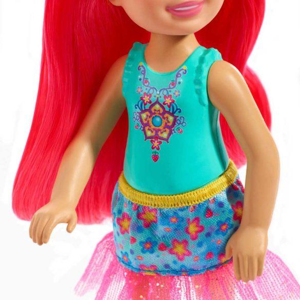 Barbie Dreamtopia Papusa cu Par Roz 3