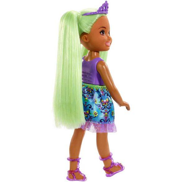 Barbie Dreamtopia Papusa cu Par Verde 2