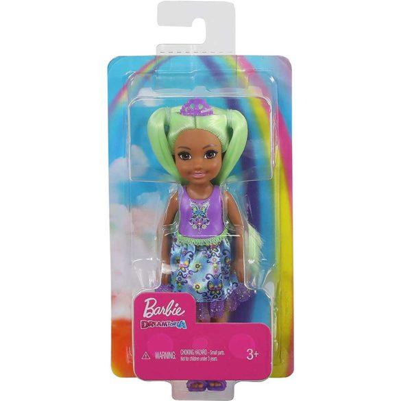 Barbie Dreamtopia Papusa cu Par Verde 4
