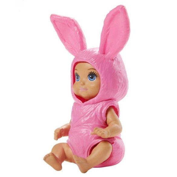 Barbie Skipper Babysitters Papusica Bebelus roz 2