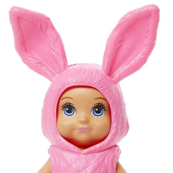 Barbie Skipper Babysitters Papusica Bebelus roz 3