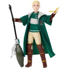 Colectia Harry Potter Quidditch Papusa Draco Malfoy