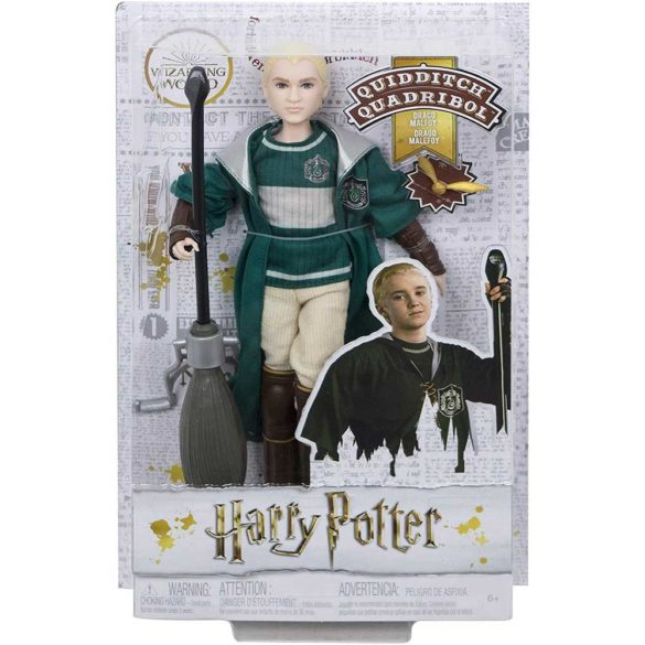 Colectia Harry Potter Quidditch Papusa Draco Malfoy 7