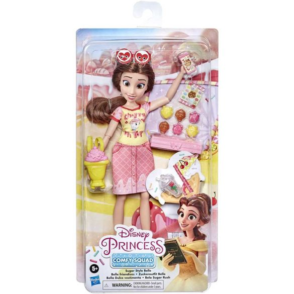 Disney Princess Comfy Squad Papusa Belle 5
