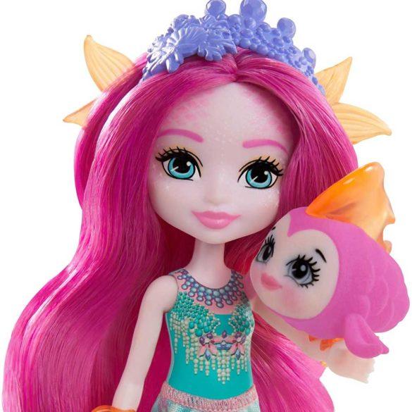 Enchantimals Papusa Mermaid si Figurina Glide 3