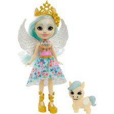 Enchantimals Papusa Pegasus si Figurina Wingley