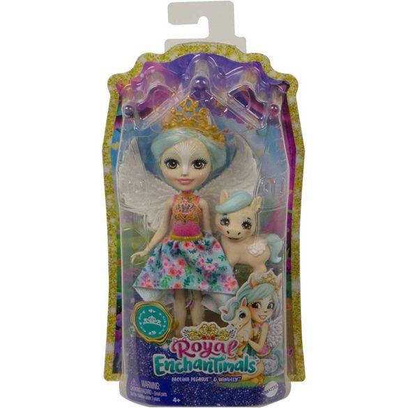 Enchantimals Papusa Pegasus si Figurina Wingley 6