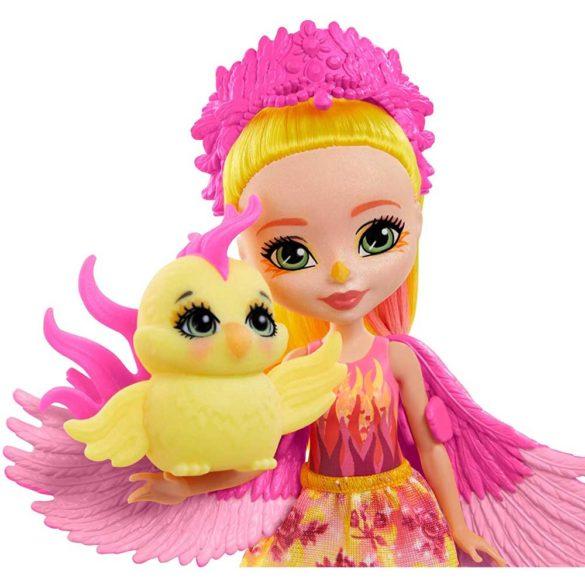 Enchantimals Papusa Phoenix si Figurina Sunrise 2