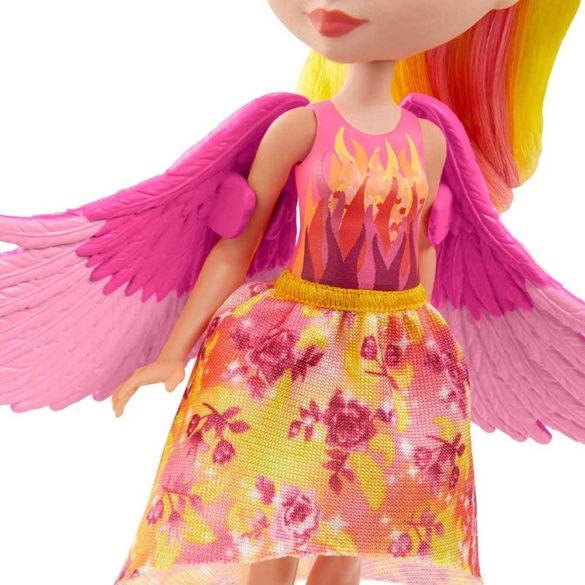 Enchantimals Papusa Phoenix si Figurina Sunrise 5