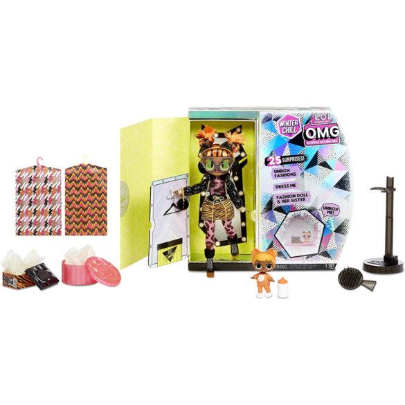 L.O.L. Surprise O.M.G. Papusa Missy Meow Baby Cat 3