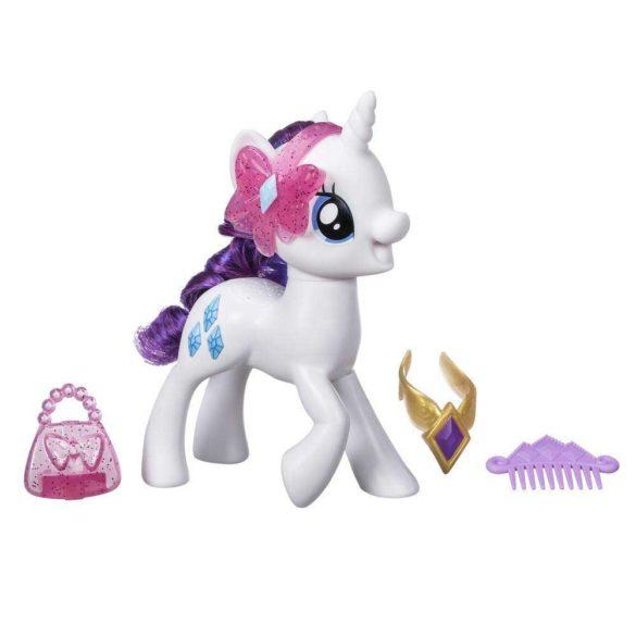 My Little Pony Figurina Rarity cu Sunete in Limba Poloneza