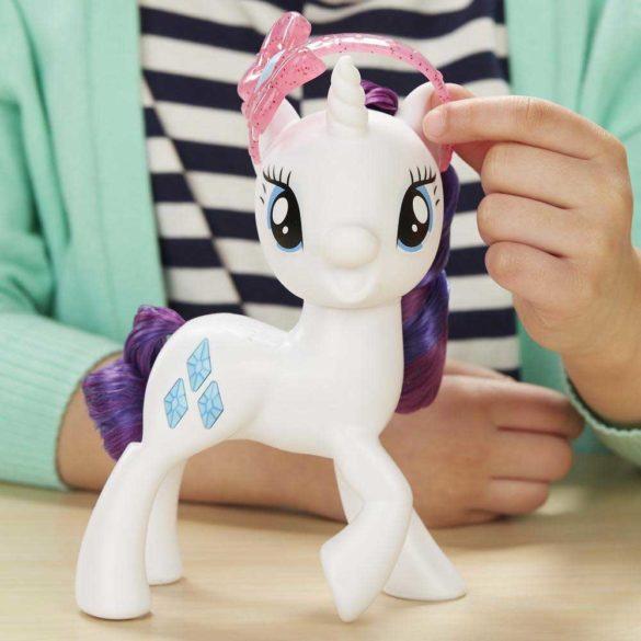 My Little Pony Figurina Rarity cu Sunete in Limba Poloneza 3