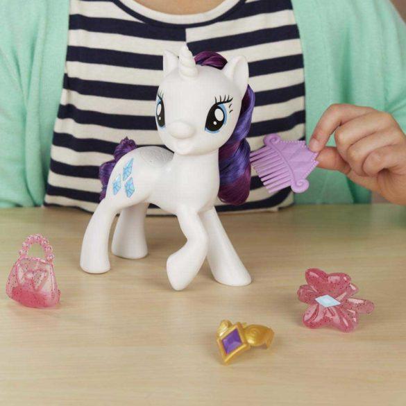 My Little Pony Figurina Rarity cu Sunete in Limba Poloneza 4