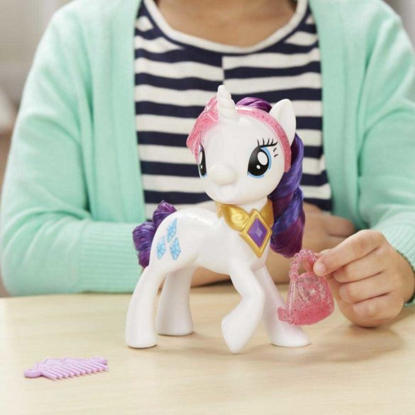 My Little Pony Figurina Rarity cu Sunete in Limba Poloneza 5