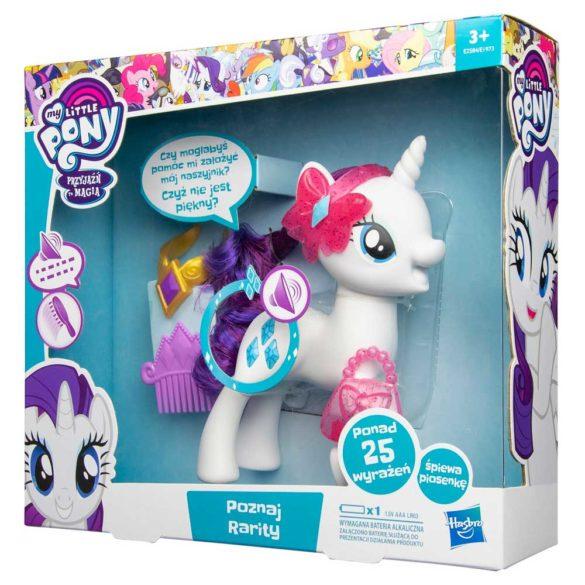 My Little Pony Figurina Rarity cu Sunete in Limba Poloneza 7