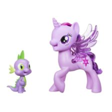 My Little Pony Figurina Twilight Sparkle si Spike (Limba Poloneza)
