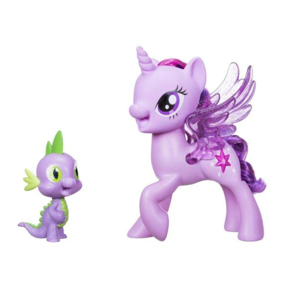 My Little Pony Figurina Twilight Sparkle si Spike (Limba Poloneza)