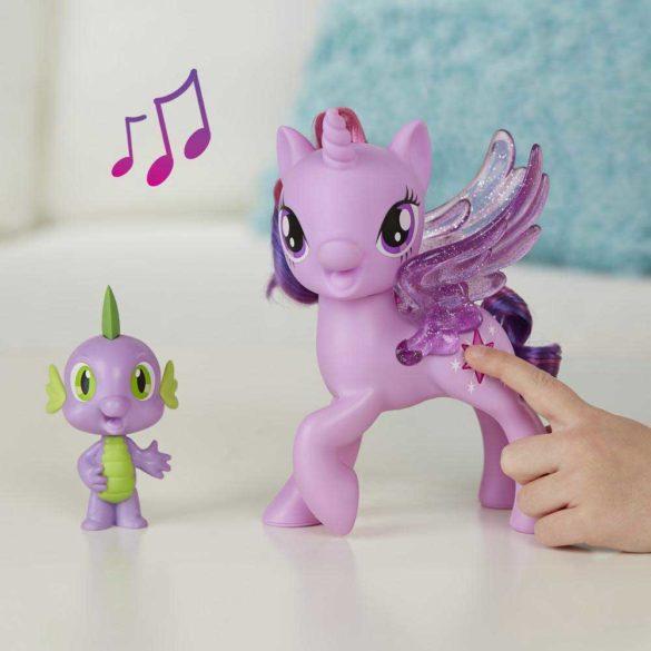 My Little Pony Figurina Twilight Sparkle si Spike Limba Poloneza 2