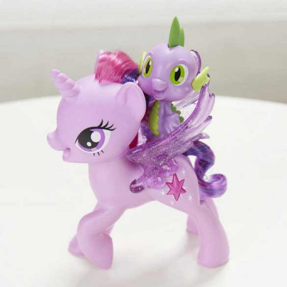 My Little Pony Figurina Twilight Sparkle si Spike Limba Poloneza 4