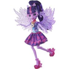 My Little Pony Papusa Twilight Sparkle cu Aripi din Cristal