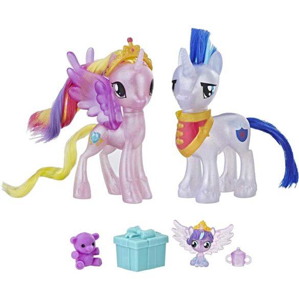 My Little Pony Set Printesa Cadance & Shining Armor