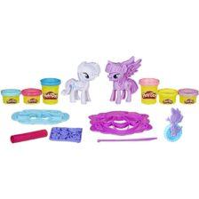 My Little Pony Twilight Sparkle si Rarity Set Play-Doh
