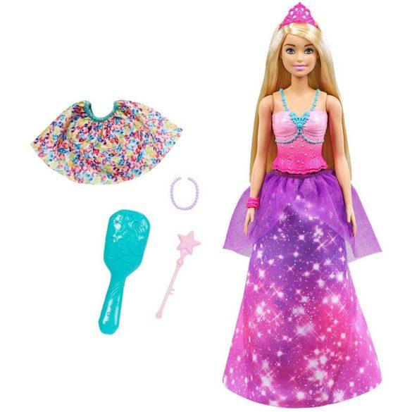 Papusa Barbie 2 in 1 - Printesa si Sirena