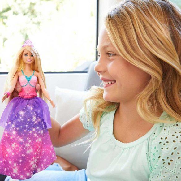 Papusa Barbie 2 in 1 Printesa si Sirena 2