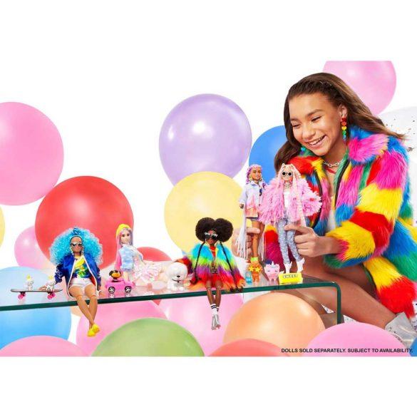 Papusa Barbie Extra 5 cu Jacheta Denim 2