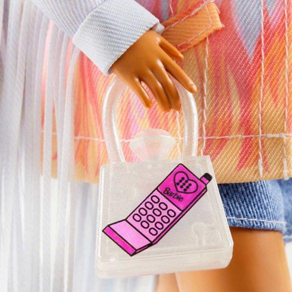 Papusa Barbie Extra 5 cu Jacheta Denim 5