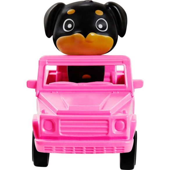 Papusa Barbie Extra 5 cu Jacheta Denim 6