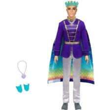 Papusa Barbie Ken 2 in 1 - Print si Siren