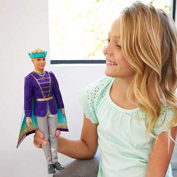 Papusa Barbie Ken 2 in 1 Print si Siren 2